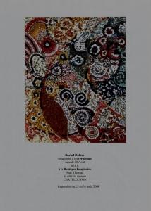 Affiche de l'exposition dans le parc thermal de Châtel Guyon en 2008